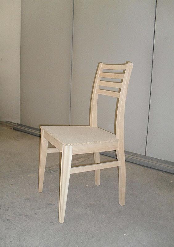 sedia al grezzo b m b produzione sedieb m b